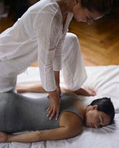 shiatsu healing massage